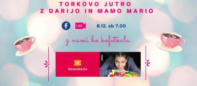 TORKOV KOFETEK Z MAMO MARIO